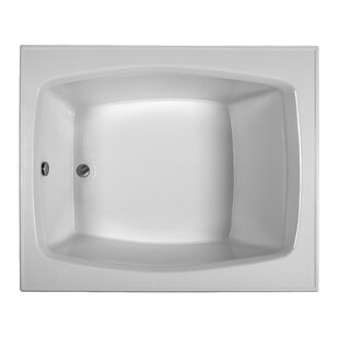 Rectangle 59.25 x 47.5  Soaking Bathtub By Reliance