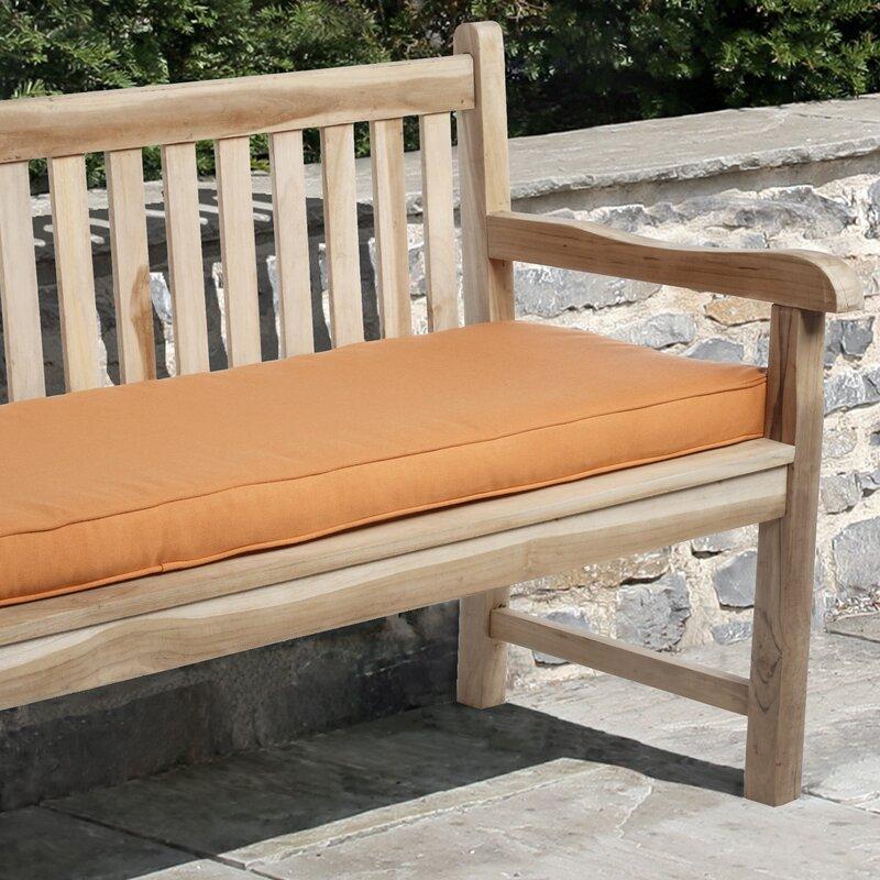 Telleman Indoor Outdoor Sunbrella Bench Cushion Reviews Birch Lane