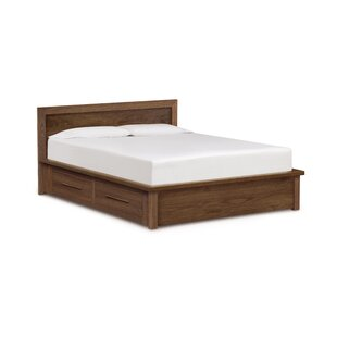 Copeland Furniture Moduluxe Storage Panel Bed