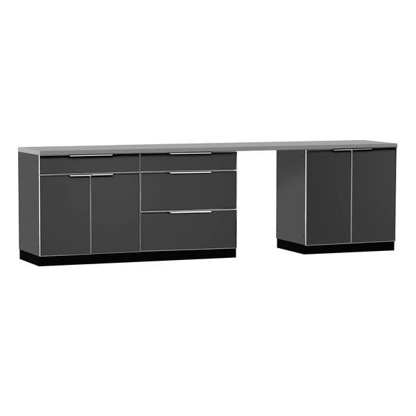 NewAge Products Aluminum 3-Piece Modular Outdoor Kitchen ...