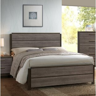 Kelson Wood Panel Bed