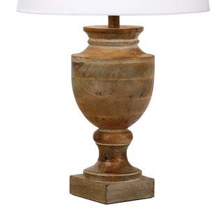 Rustic table lamps wayfair rudyard 46cm table lamp base aloadofball Choice Image