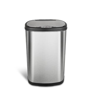 Genial Nine Stars 13.2 Gallon Motion Sensor Trash Can