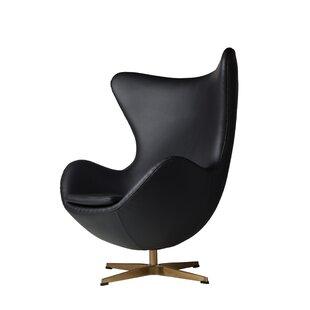 Orren Ellis Oliviana Swivel Lounge Chair