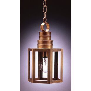 Northeast Lantern Hardwick 1-Light Outdoor Hanging Lantern