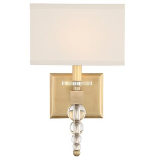 Everly Quinn Gehlert 1-Light Armed Sconce