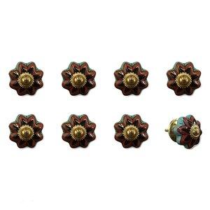 Handpainted Novelty Knob (Set of 8)