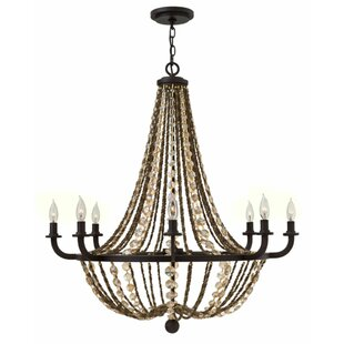 Bungalow Rose Marla 8-Light Chandelier
