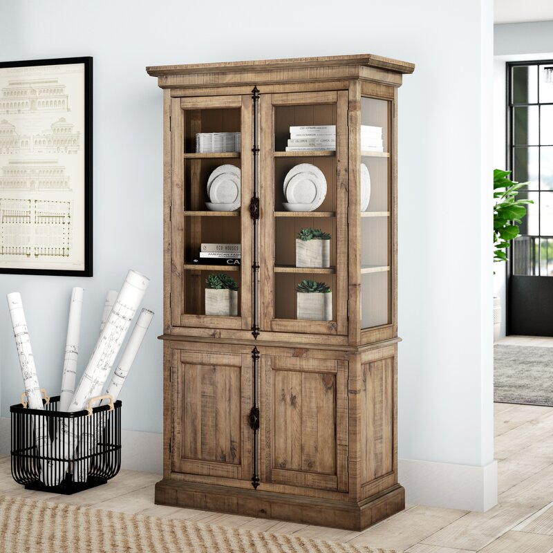 Filkins Lighted China Cabinet