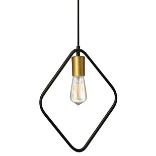 Wrought Studio Mitzi 1-Light Bulb Pendant