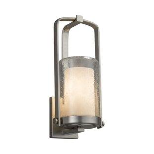 Price comparison Genaro 1-Light Outdoor Sconce By Brayden Studio