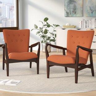 Accent Chair Set 2 Wayfair
