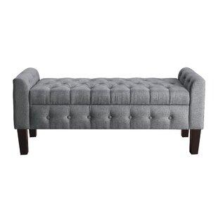 Throggs Upholstered Storage Bench
