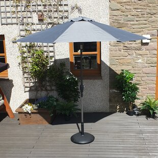 Rebeca 2.1m Traditional Parasol By Freeport Park