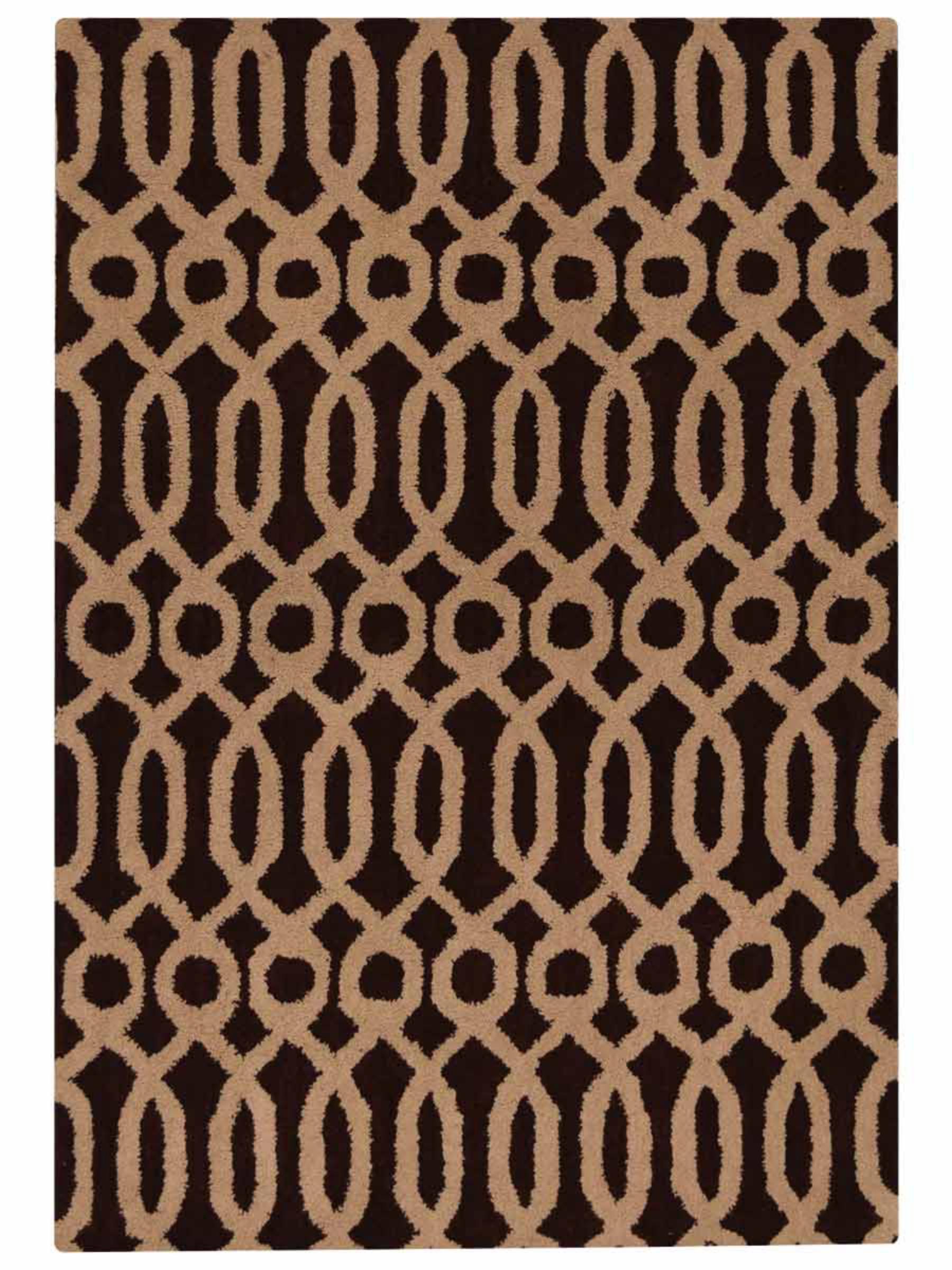 Brayden Studio Friedensburg Abstract Handmade Tufted Wool Beige Area Rug Wayfair