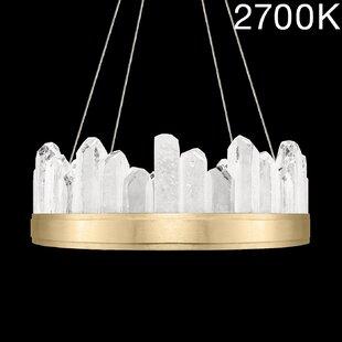 Fine Art Lamps Lior Rock 12-Light Drum Ch..