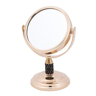 Check Prices Gold Studded Mini Mirror By Danielle Creations