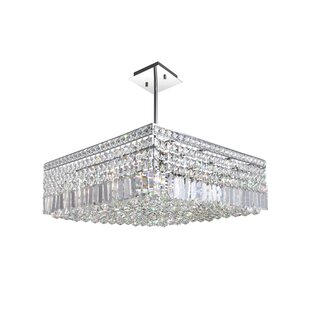 Navya Modern 10-Light Crys..