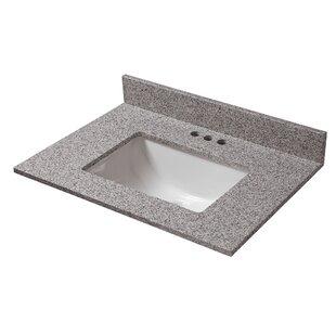 Bargain 25 Single Bathroom Vanity Top ByCahaba