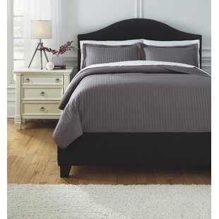Brookfield 3 Piece Comforter Set by Charlton Home Reviews