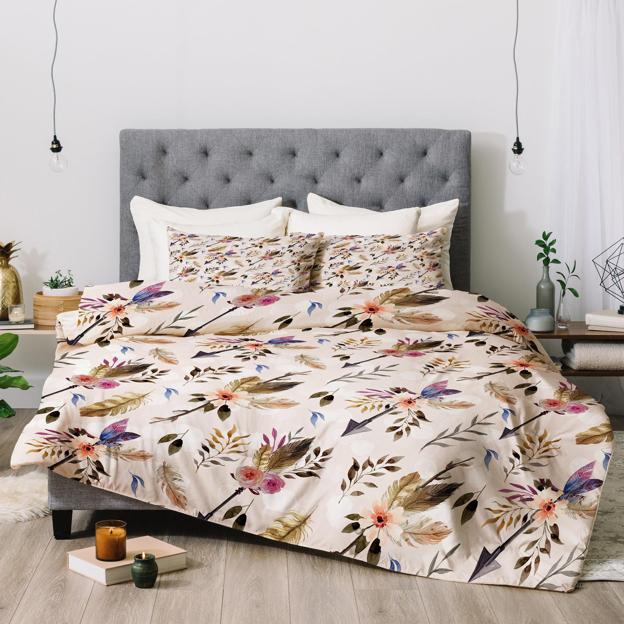 East Urban Home Marta Barragan Camarasa Bohemian Comforter Set Reviews Wayfair