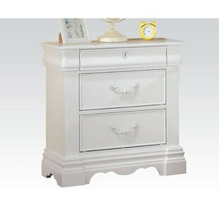 Mark 3 Drawer Nightstand by Alcott Hill