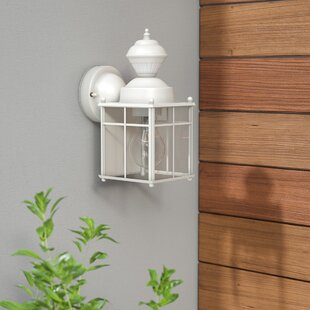 Three Posts Larsen 1-Light Outdoor Wall Lantern
