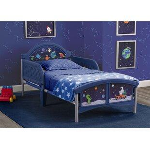 Alfie the Astronaut Convertible Toddler Bed by Delta Children