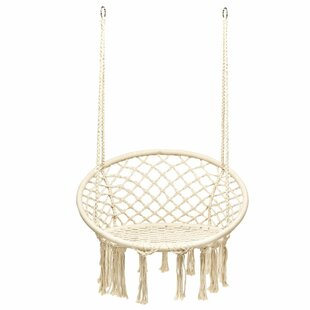 Chandler Hanging Rope Swing Chair By Freeport Park