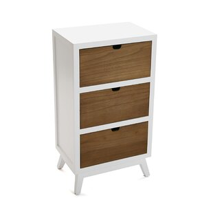 Norwood 3 Drawer Chest By August Grove