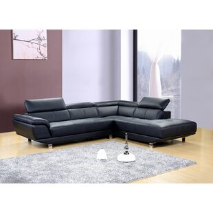 Shop Dela Reclining Sectional by Hokku Designs