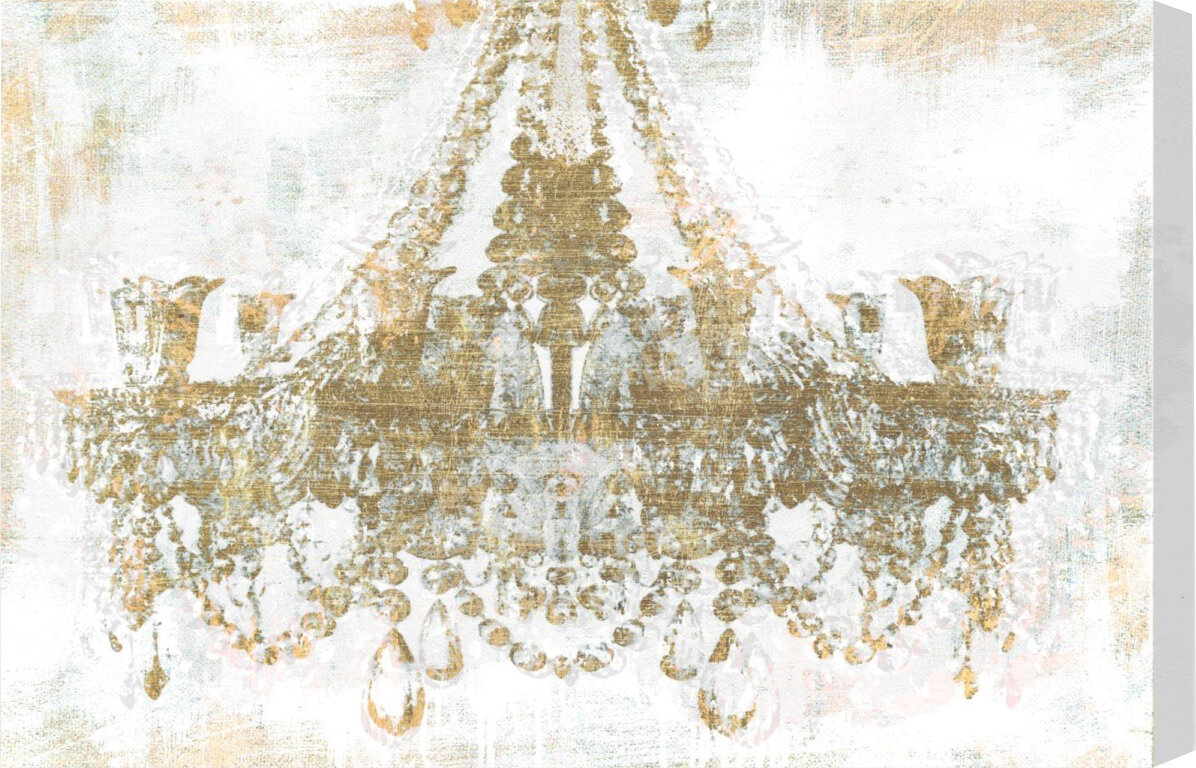 decor art p canvas artwork x chandelier wall modern home