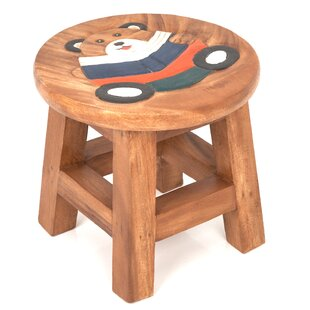 Teddy Reading Children's Stool By Just Kids