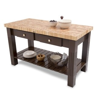 Grazzi Prep Table with Butcher Block