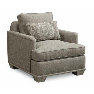 Genial Carolin Gray Arm Chair