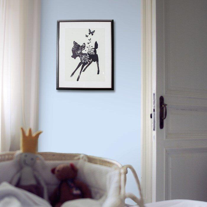 Graham & Brown Bambi Pattern Fill Disney Framed Vintage ...