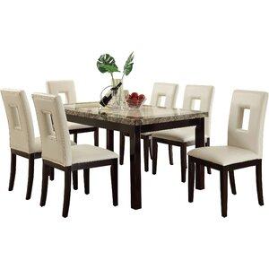 Phillipston 7 Piece Dining Set
