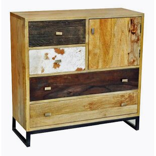 Millwood Pines 4 Drawer Combo Dresser