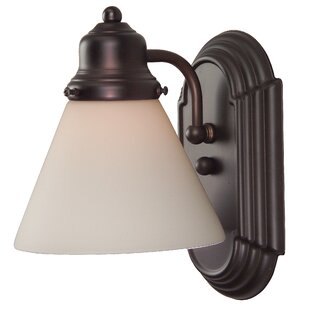 Charlton Home Benfield 1-Light Bath Sconce
