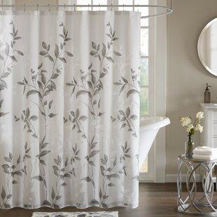 Modern Gray Silver Shower Curtains Allmodern