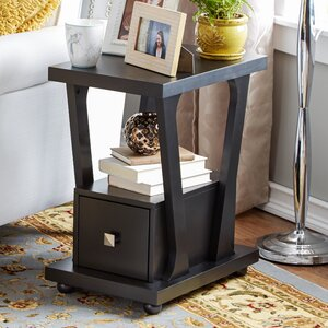 Daniela End Table With Storage