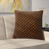 Chocolate Brown Velvet Pillows Wayfair