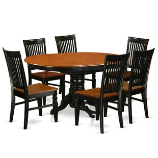 Piland 7 Piece Breakfast Nook Dining Set