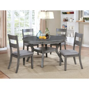 Baumgarten 5 Piece Dining Set by Gracie Oaks