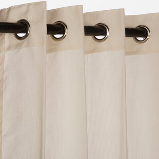 Lahey Sunbrella Outdoor Single Curtain Panel