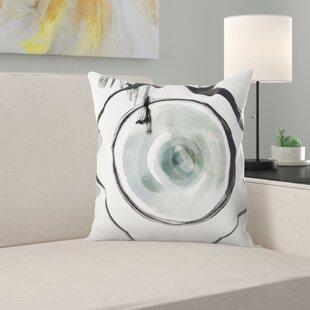 Perforation I Throw Pillow