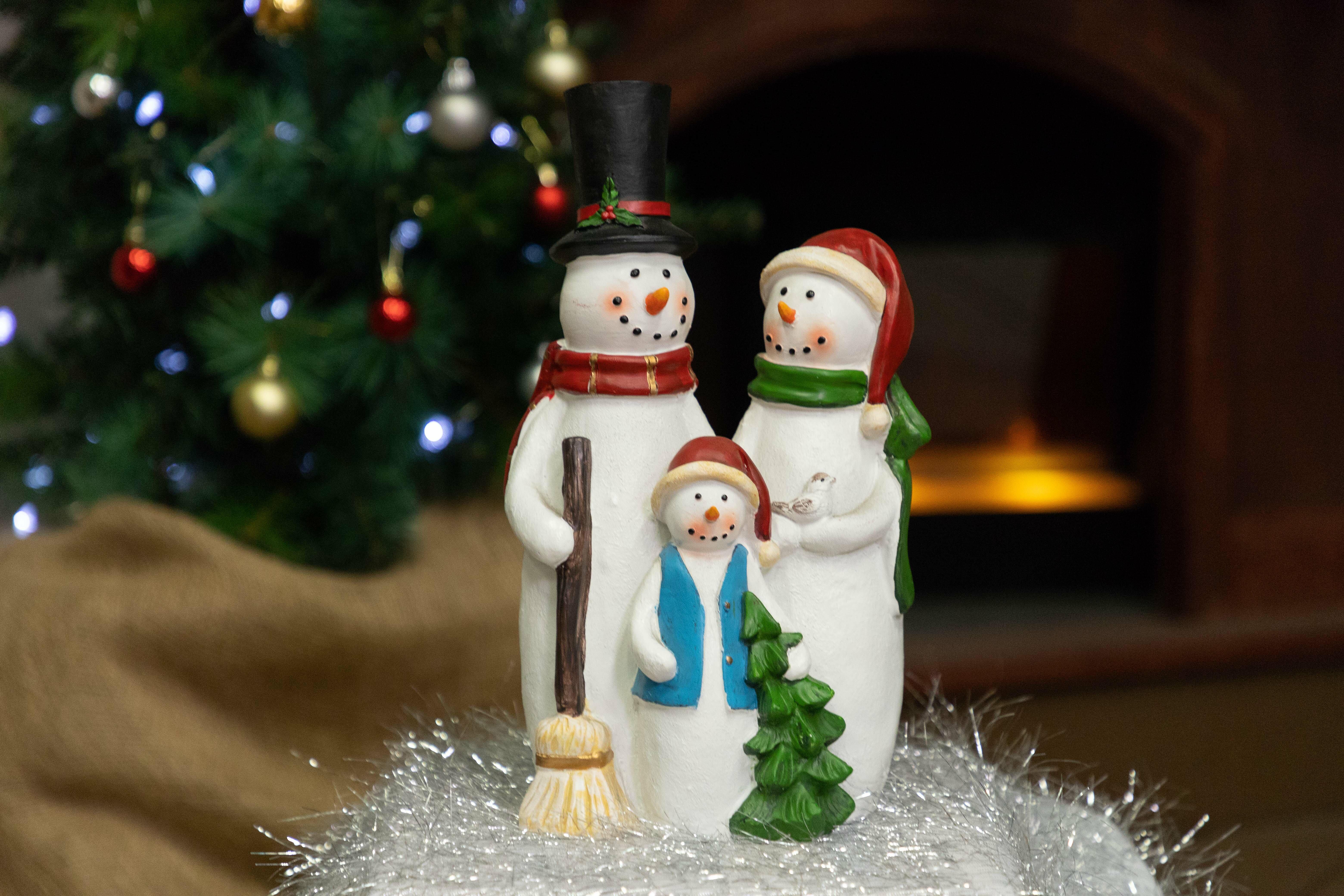 Collectibles JOY HOLIDAY SNOWMAN STAKE CHRISTMAS SEASONAL YARD ...