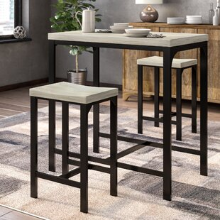 Kimmons 3 Piece Dining Set by Ebern Designs