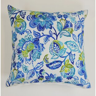 Beaupre Floral Indoor/Outdoor Throw Pillow