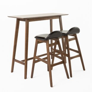 Superieur Adriana 3 Piece Pub Table Set